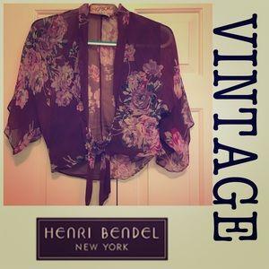 OS Vintage Henri Bendel Wrap